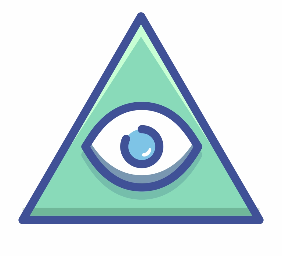 All seeing eye png. Eyeballs clipart pyramid