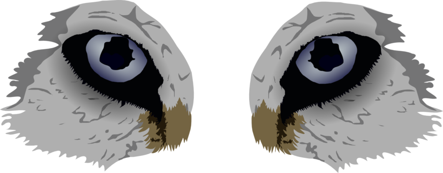 Eyes by wolfguardian on. Wolf clipart vector