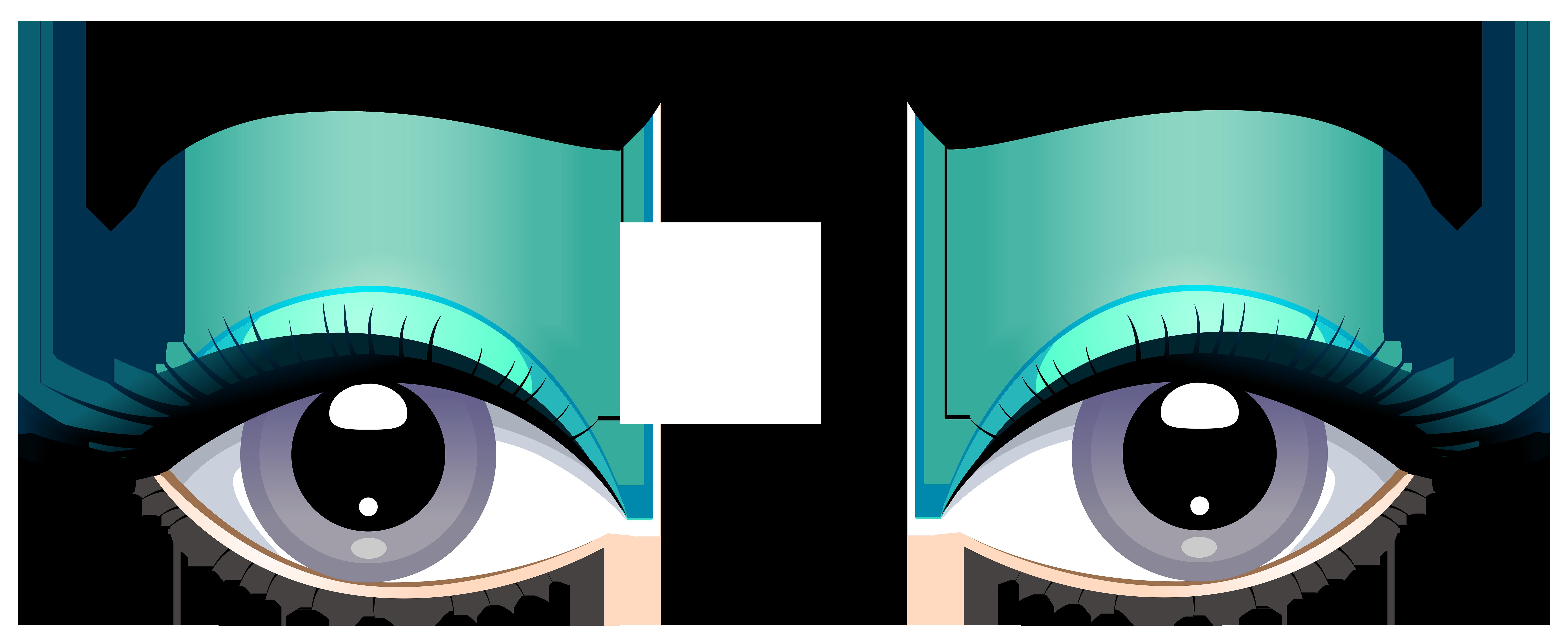 Grey female eyes with. Clipart cars eye