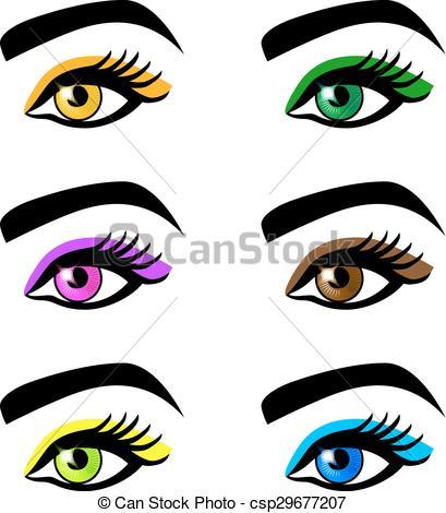 Eyebrow clipart 2 eye. Eyes with eyebrows portal