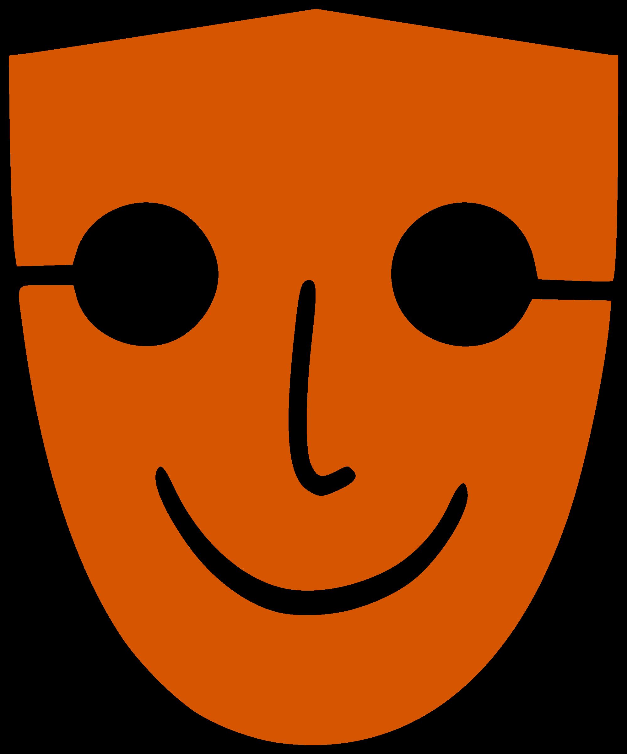 Mask by navaneethks ehauj. Human clipart face