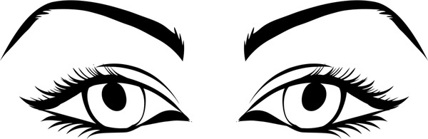 Free thick eyebrows cliparts. Eyebrow clipart arched