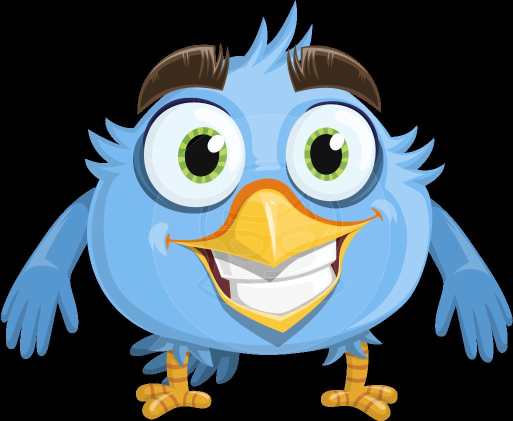Cartoon bird clip art. Eyebrow clipart big eyebrow