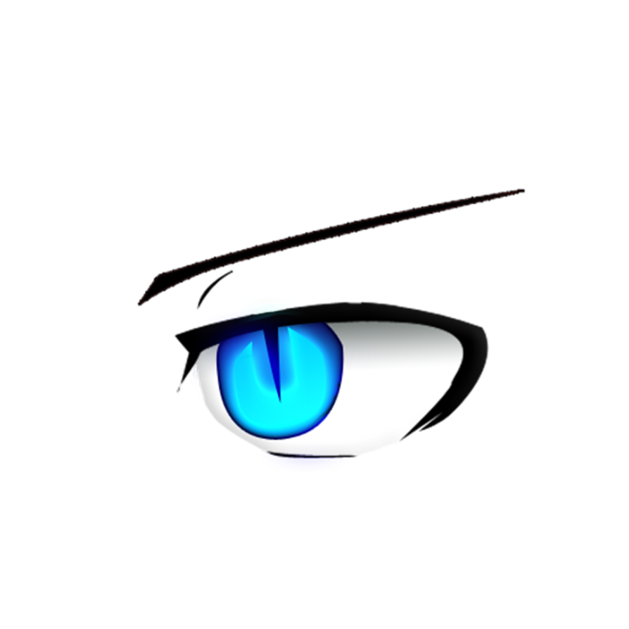 Eyebrow clipart blue eye. Light edited by seykil