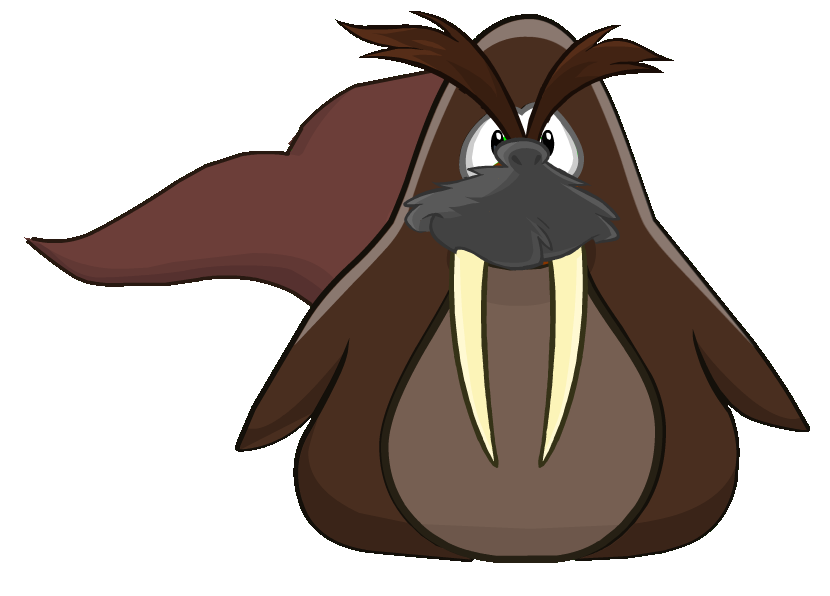 Eyebrow clipart bushy eyebrow. Walrus flippr wiki fandom