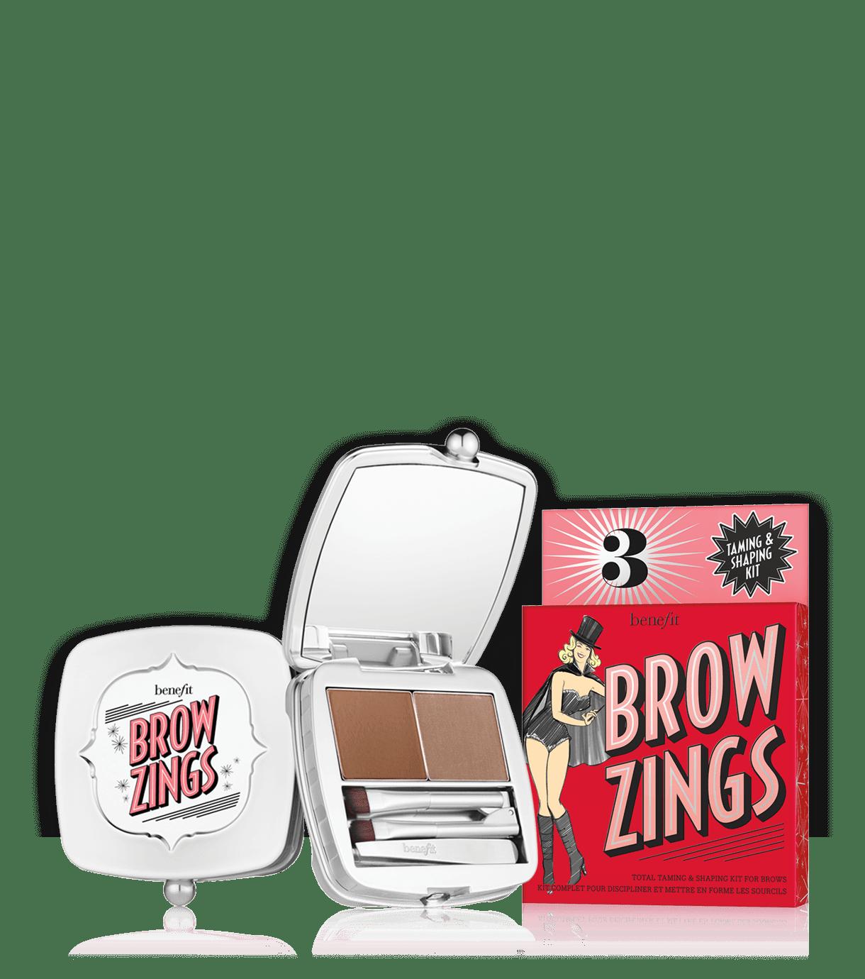 Brow zings shaping kit. Eyebrow clipart bushy eyebrow