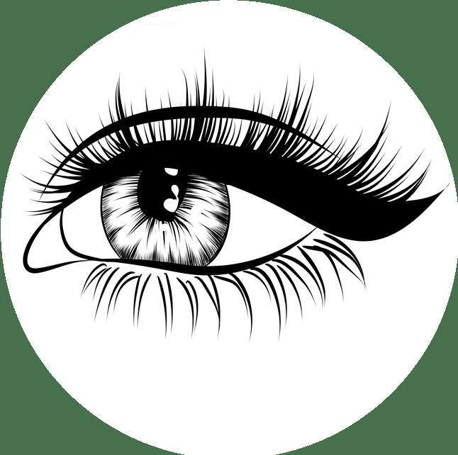 Eyelashes clipart eyebrow threading. Eyes and eyebrows drawing