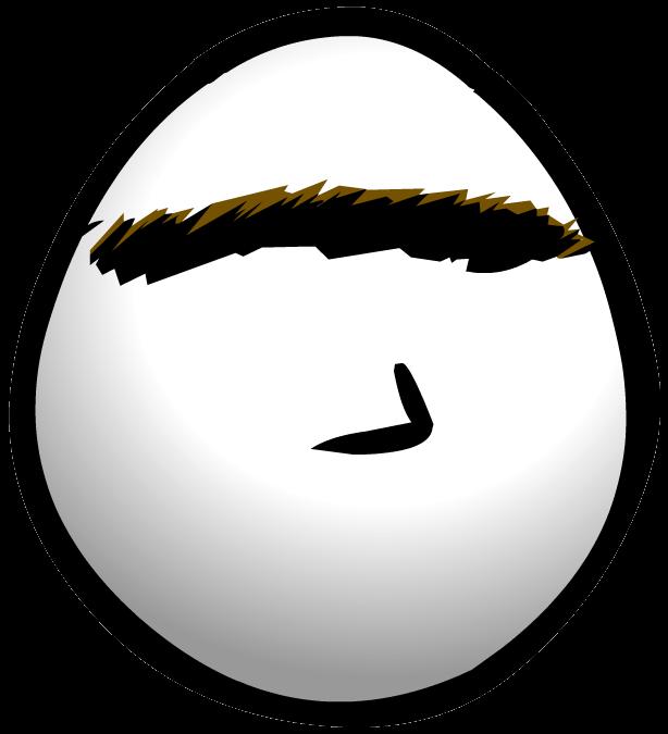 Big brow club penguin. Eyebrow clipart bushy eyebrow