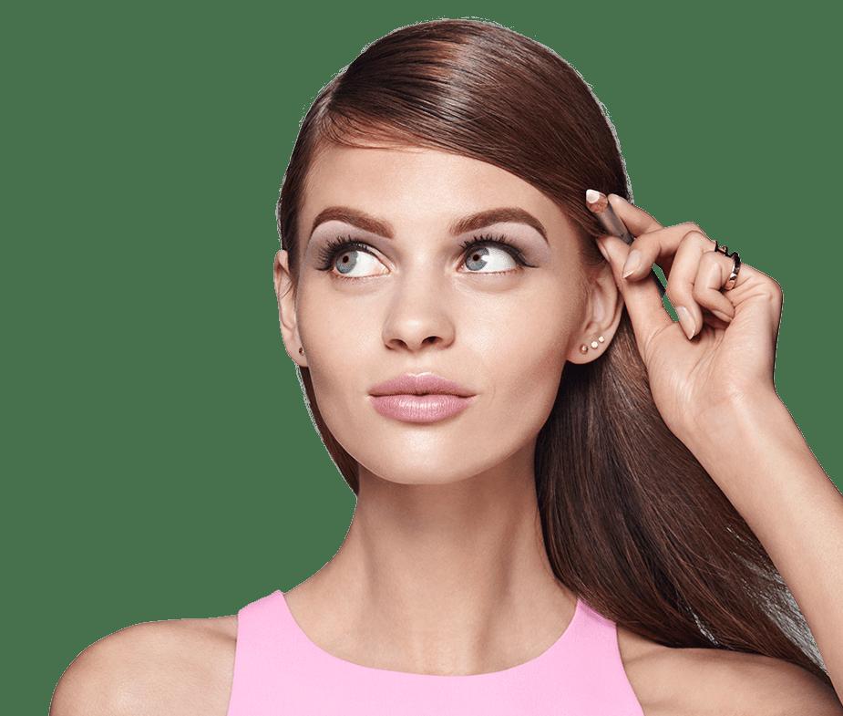 Bigger bolder brows kit. Eyebrow clipart bushy eyebrow