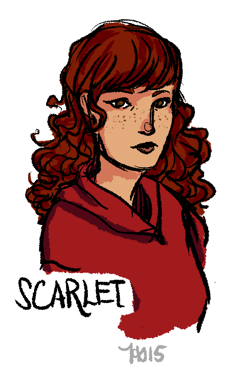 Eyebrow clipart drawn tumblr. Scarlet by hyperhs on