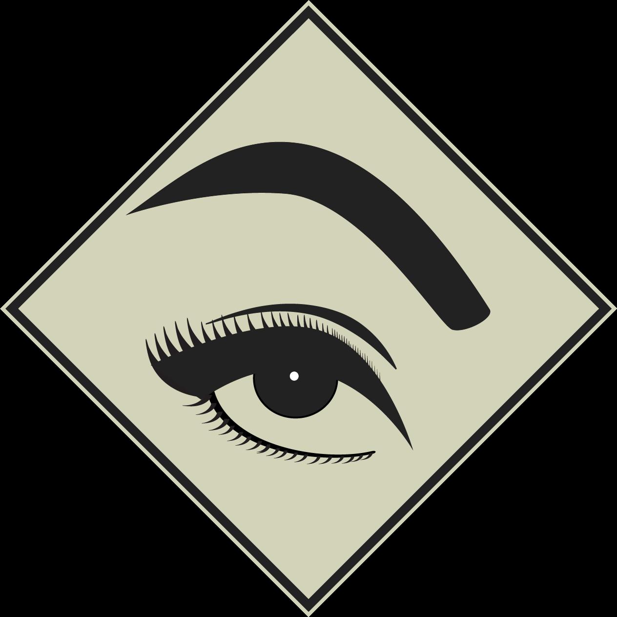 Makeup la do a. Eyelashes clipart perfect eyebrow