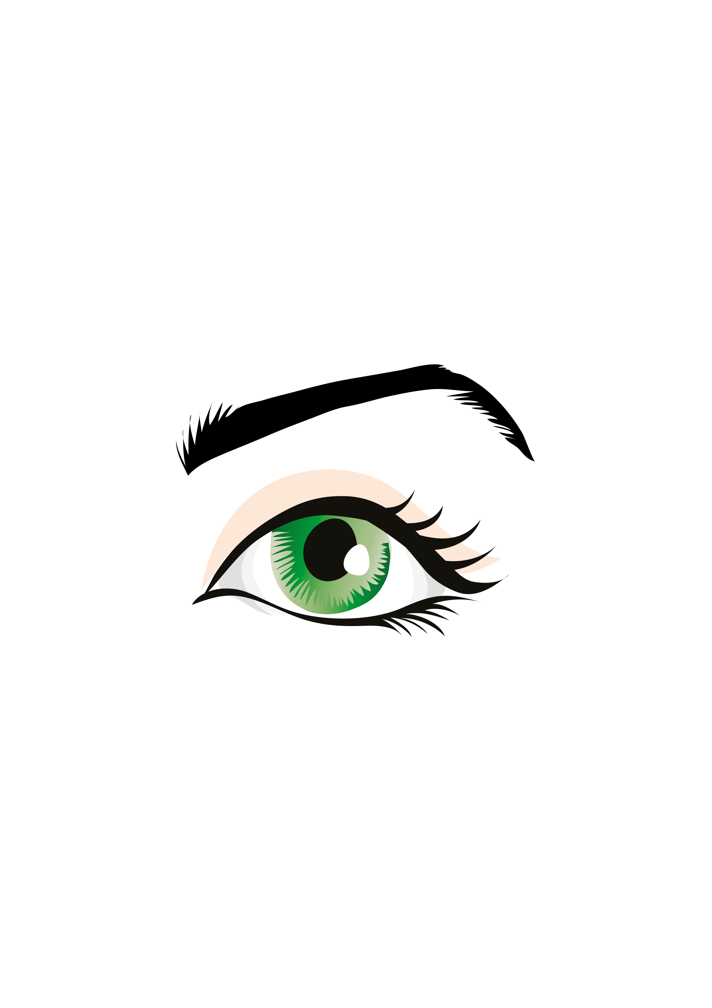 Eyebrow clipart eyelid. Occhio icons png free