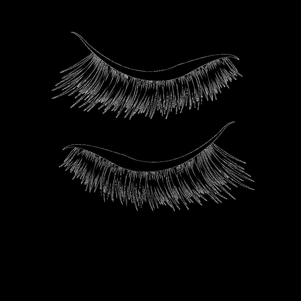 Wing extension fake eyes. Eyelashes clipart winged eyeliner