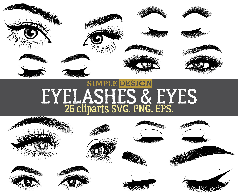 Eyebrow clipart eys. Eye and