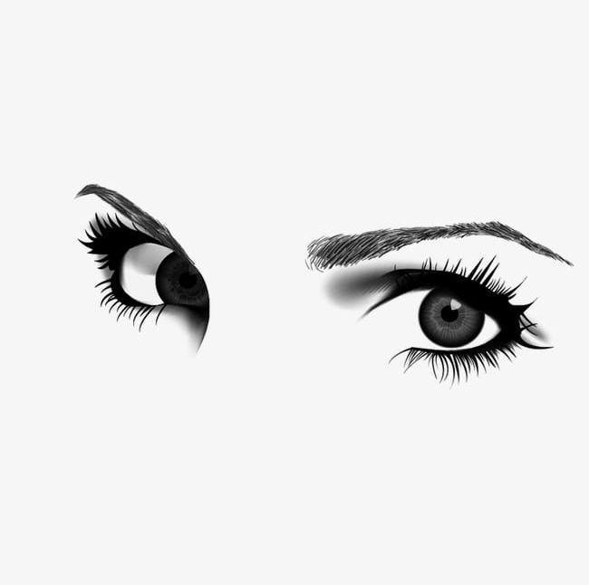 Eyebrow clipart girl eyebrow. Eye png eyelash eyes