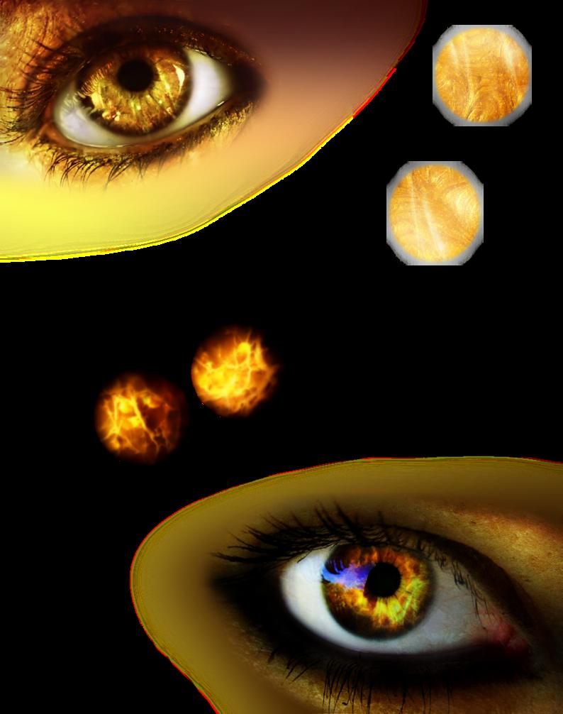 Eyelash clipart gold. Iris png by velmagigglewink