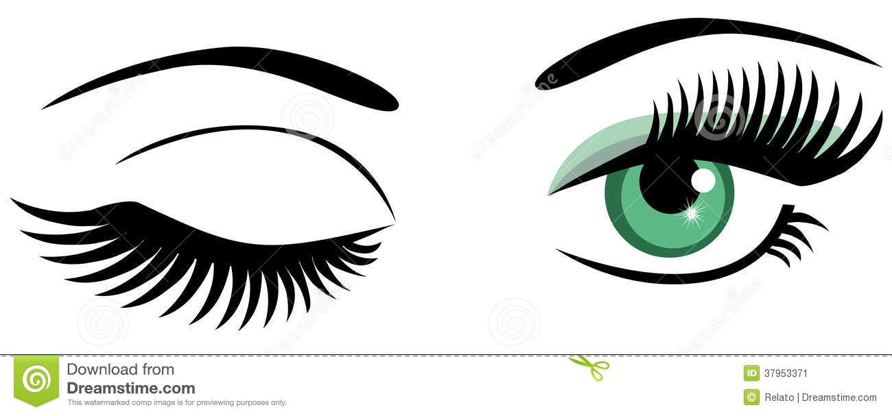 Pin on just stuff. Eyelash clipart eye blink