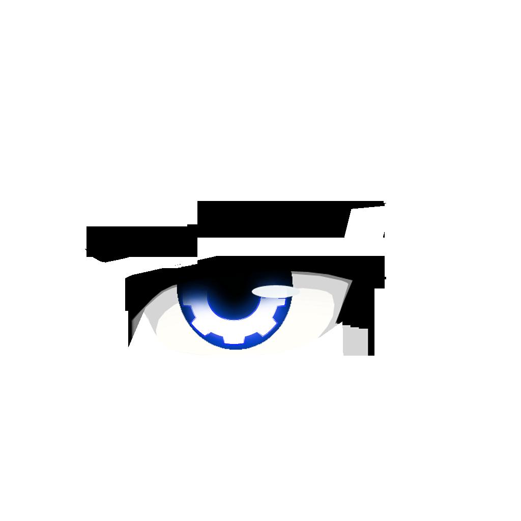 Eyebrow grey eyes