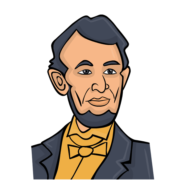 Free presidents day clip. Abraham lincoln clipart