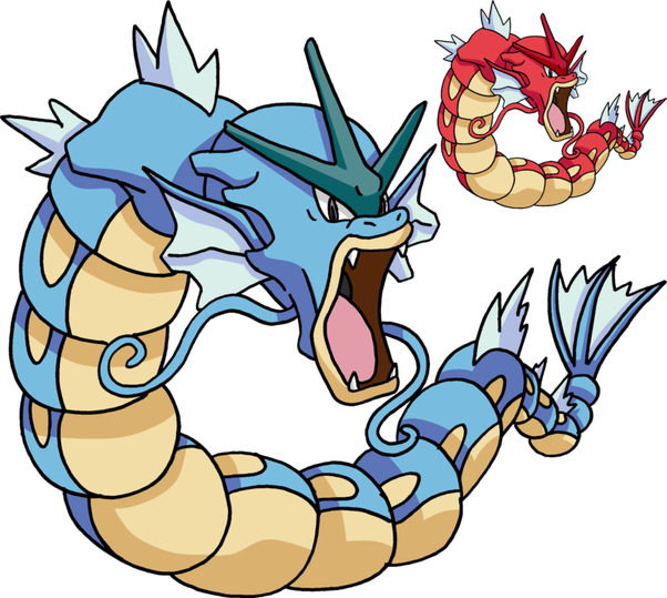 Why does gyarados look. Mad clipart eyebrow