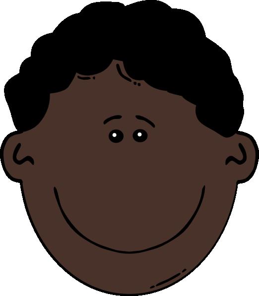 Black man clip art. Knee clipart forehead
