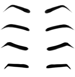 Free thick eyebrows cliparts. Eyebrow clipart outline