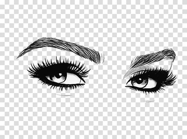 Eyebrow clipart transparent background. Cosmetics microblading eyelash eye