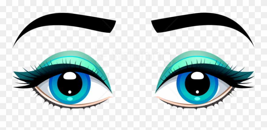 Eyebrow clipart transparent background. Free png download female