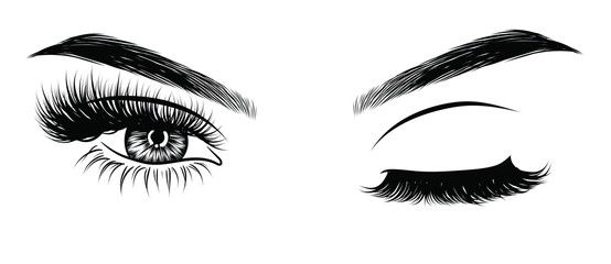 Eyelash clipart eye blink. Pin on sexy tattoos