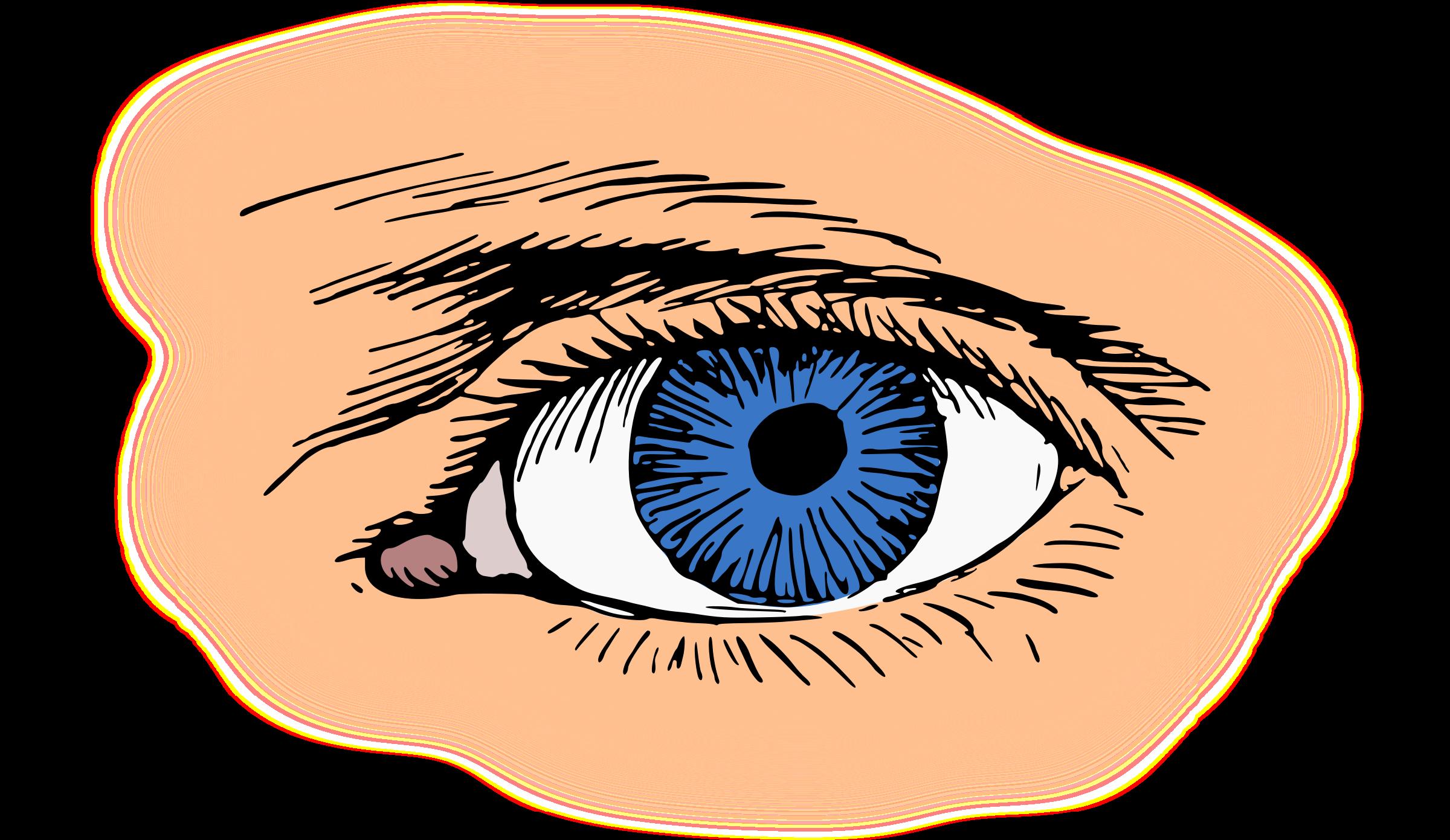 Brown eyes shop of. Eyebrow clipart woman's eye