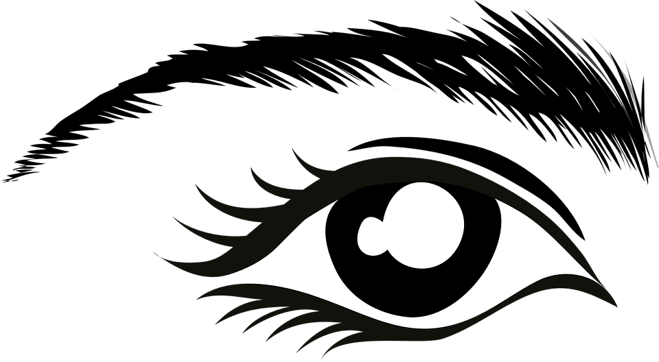 Things you have to. Eyelashes clipart woman's