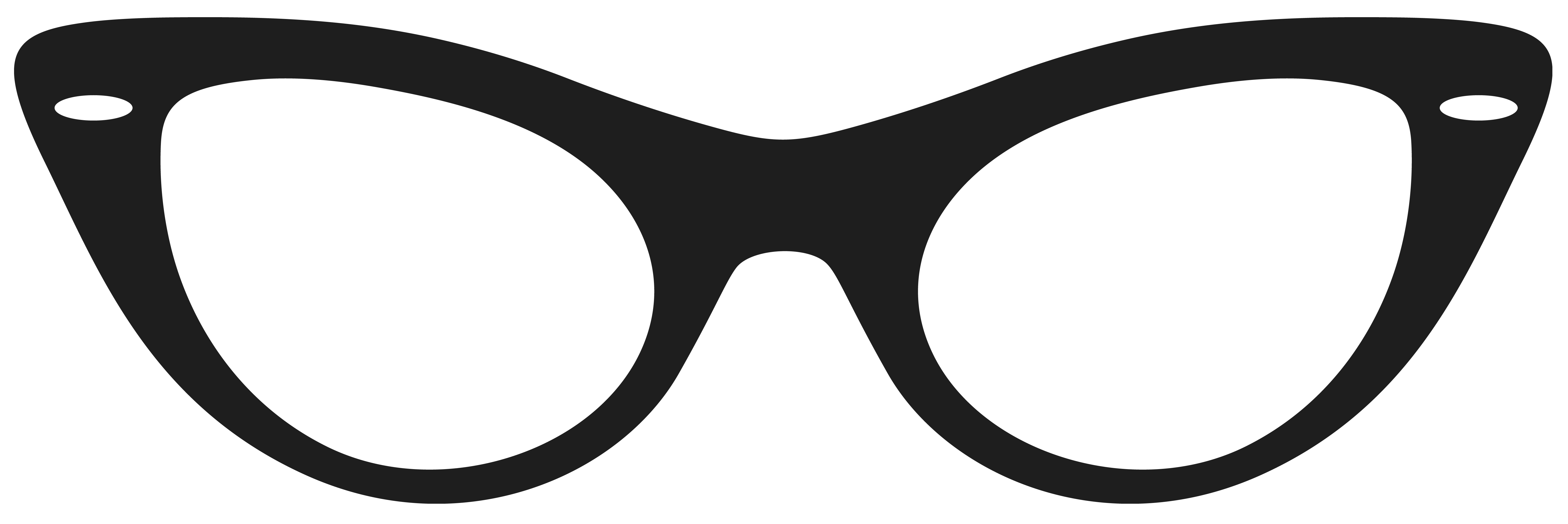 clipart sunglasses black and white