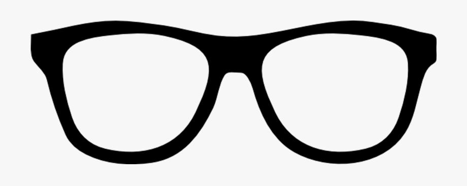 Geek black big glasses. Sunglasses clipart glass frame
