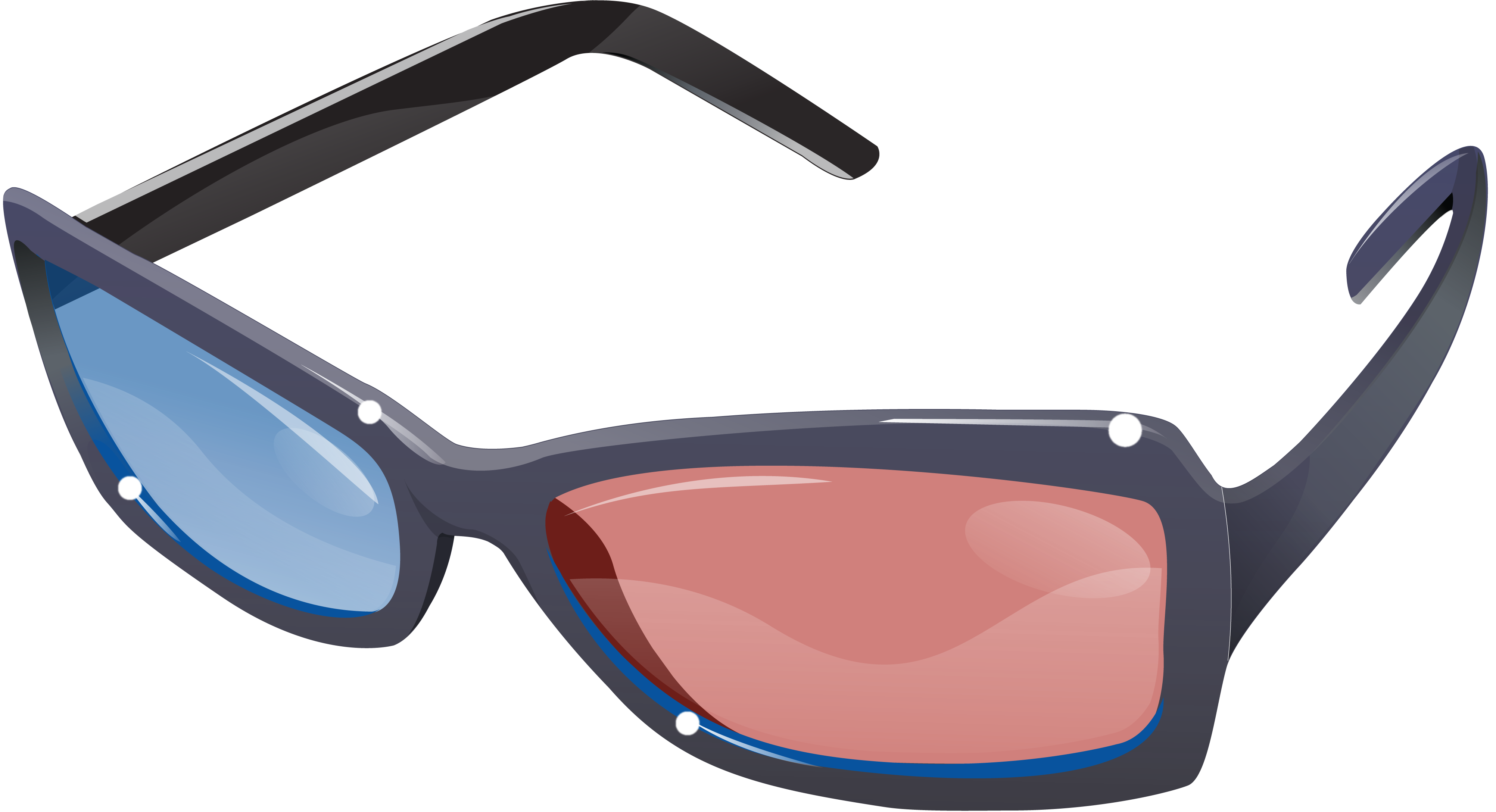 Glasses clipart brown.  d png image