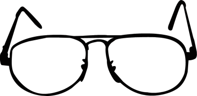 Eyeglasses clipart chashma. Free black glasses cliparts
