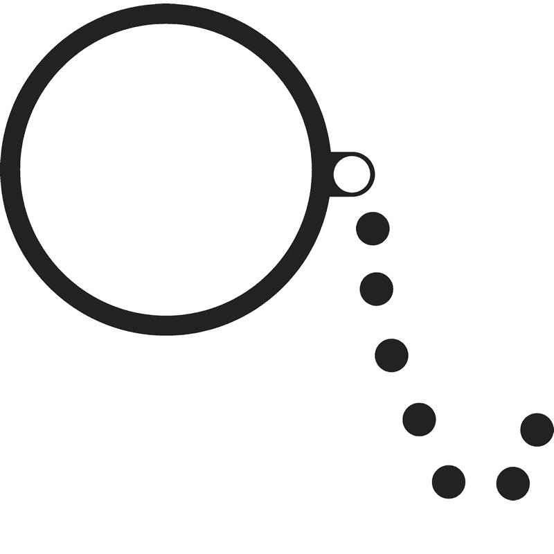Left monocle rubber stamp. Eyeglasses clipart circle