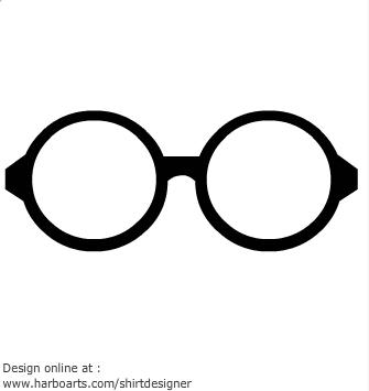Eyeglasses clipart circular glass. Glasses cartoon free download