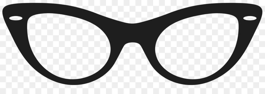 Cat cartoon glasses sunglasses. Eyeglasses clipart clip art