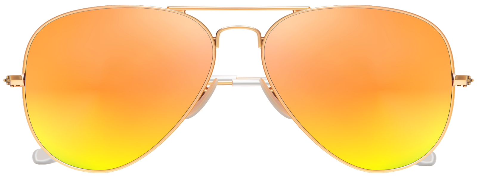 Light brown eyes glasses. Sunny clipart stylish glass
