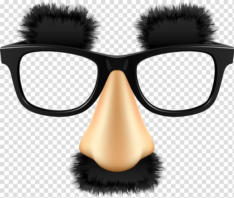 Eyeglasses clipart eye brows. Groucho glasses sunglasses transparent