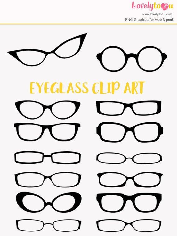 Eyeglasses clipart fashion glass. Eye glasses clip art