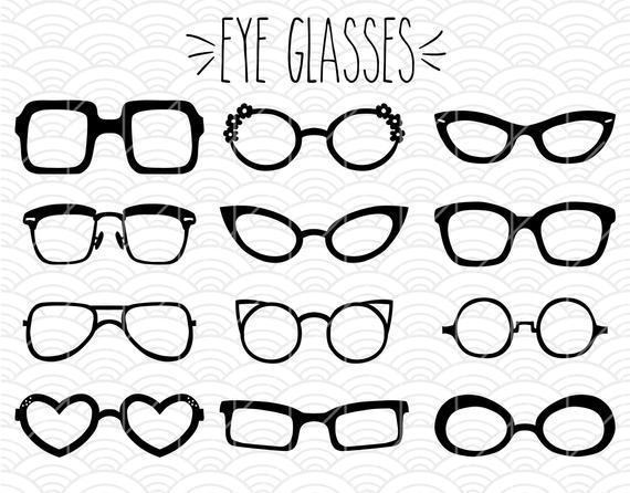 Eyeglasses clipart fashion glass.  glasses clip art