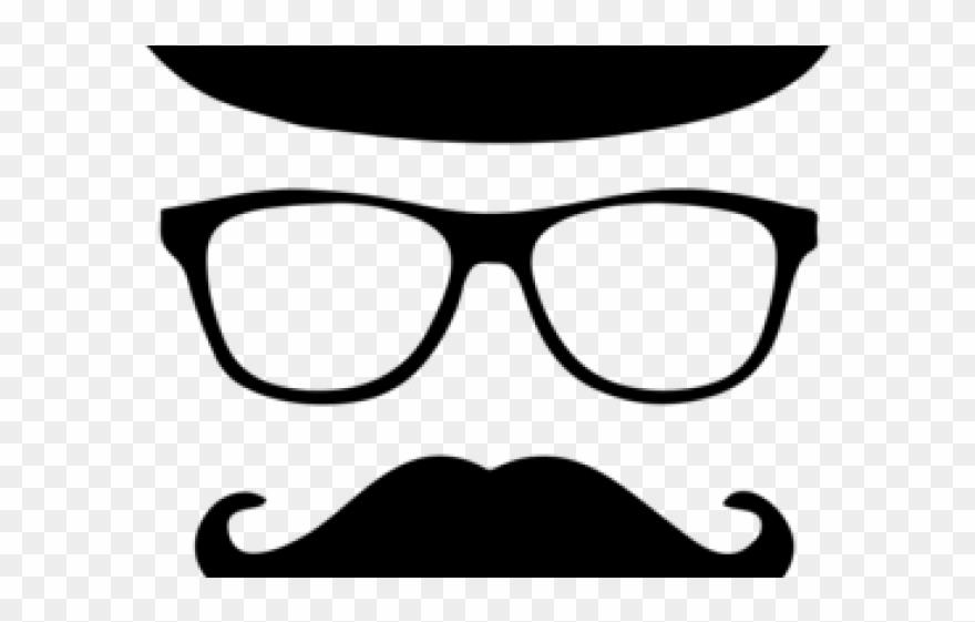 Moustache clipart paper. Mustache with hat png