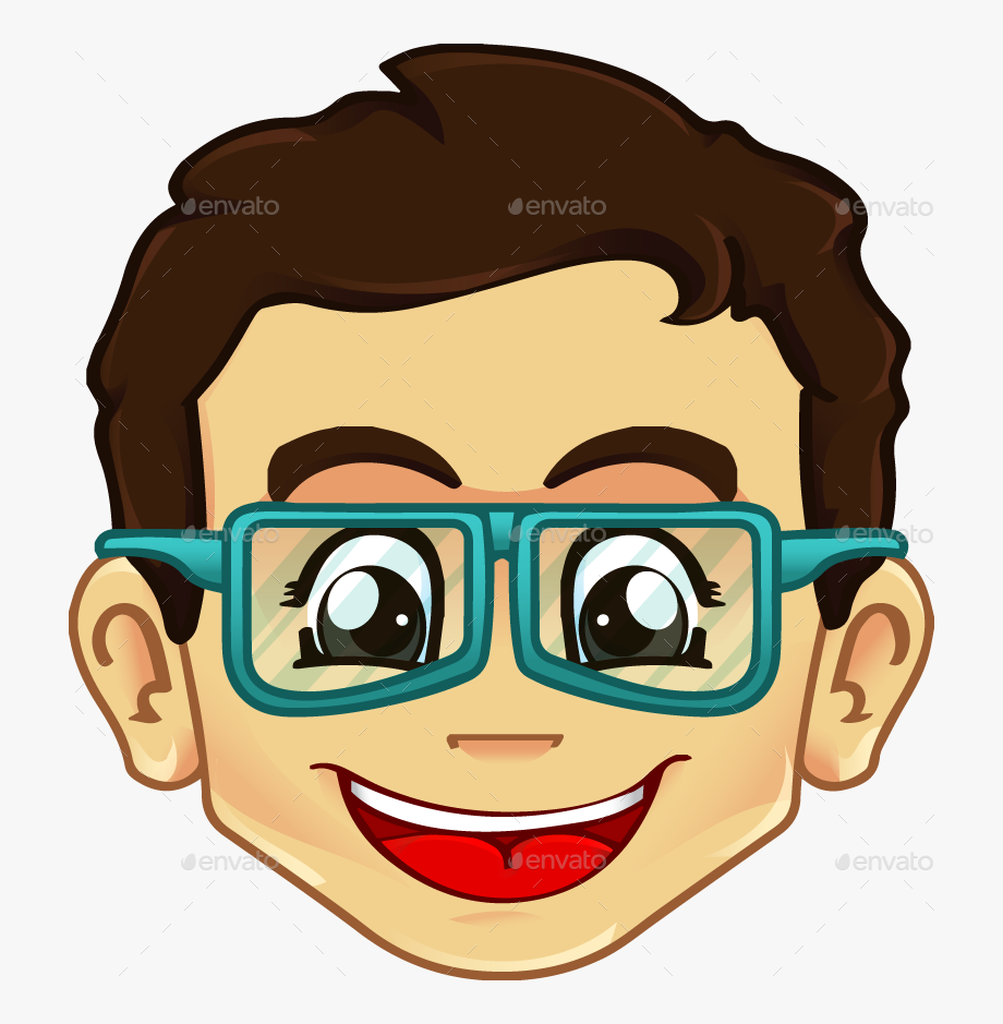 Sunglasses clipart cool guy. Acc geeky glasses boy