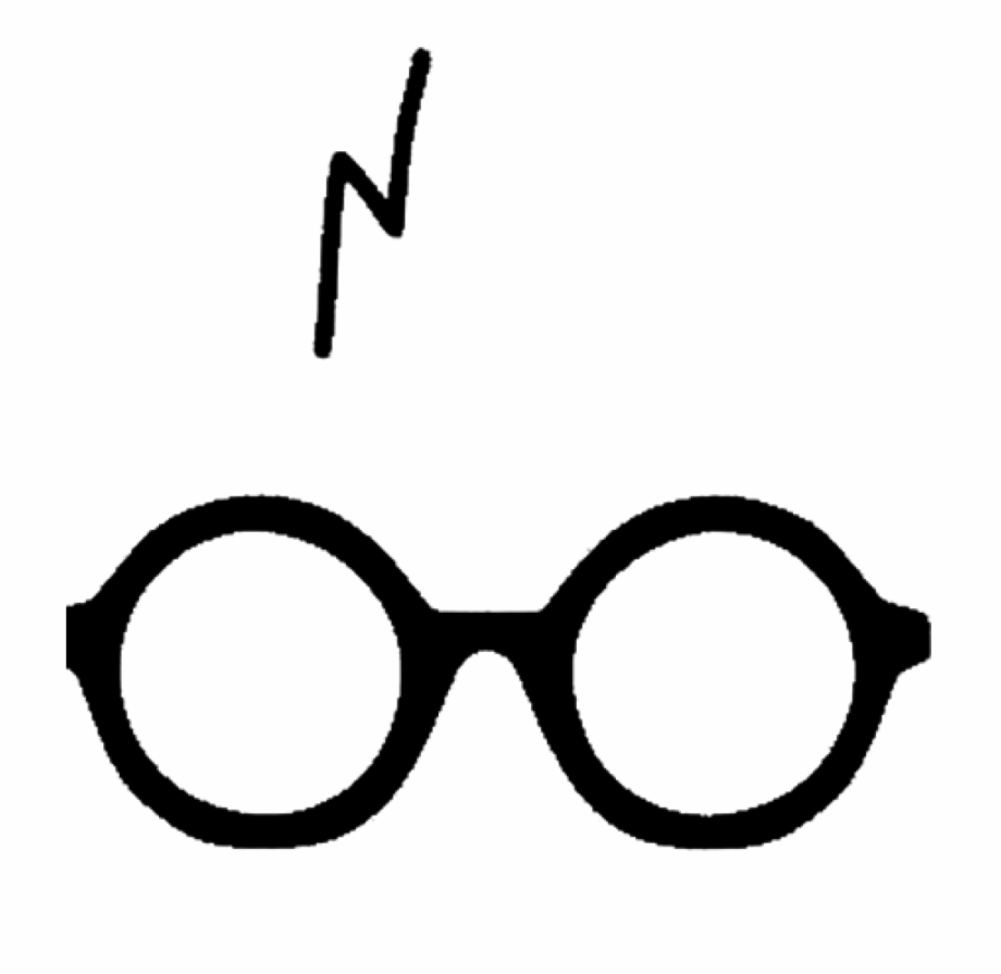 Eyeglasses clipart harry potter. Glasses banner hatenylo