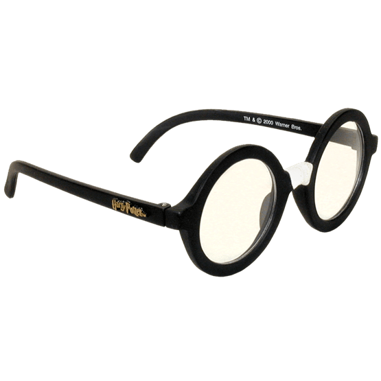 Costume eyewear cosplay accessories. Eyeglasses clipart harry potter