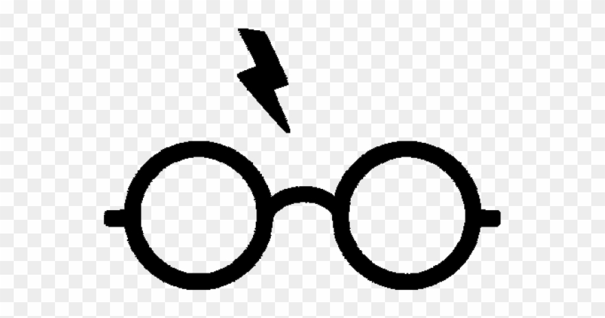 Drawn glasses svg free. Eyeglasses clipart harry potter