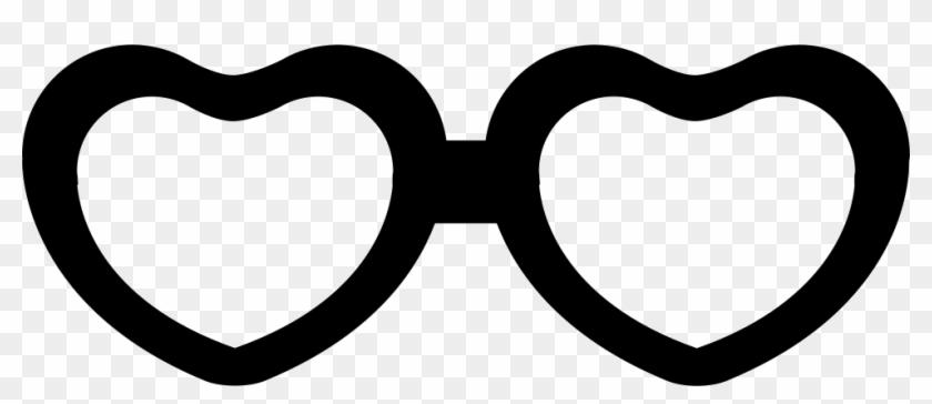 Eyeglasses clipart heart. Shaped comments shape