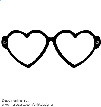 Free glasses cliparts download. Eyeglasses clipart heart