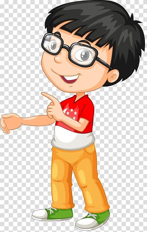Eyeglasses clipart kid glass. A little boy transparent